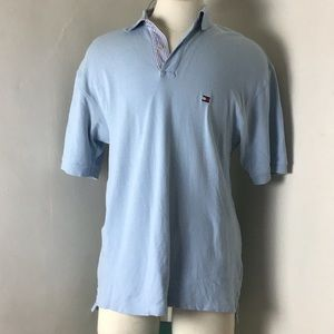 Tommy Hilfiger Classic Logo Polo Shirt Size Large